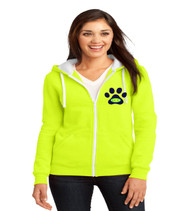 Eagle Creek ladies zip up hoodie