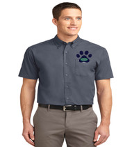 Eagle Creek men's short sleeve button up