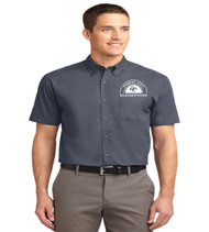 Forest City men's short sleeve button-up
