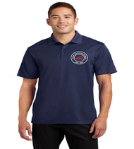 Sadler men's dri fit polo