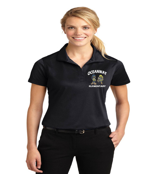 Oceanway ladies dri fit polo