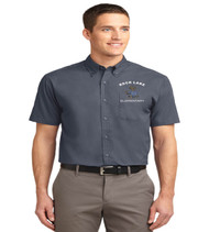 Rock Lake men's short sleeve button up