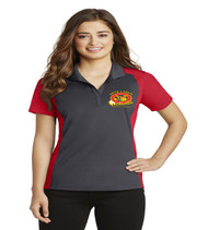 South Creek ladies color block dri fit polo