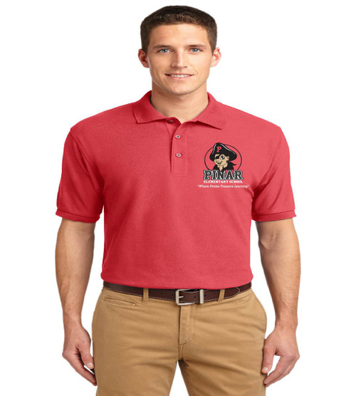 Pinar men's basic polo