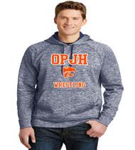 OPJH Wrestling heather polyester hoodie