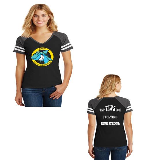 Fla Virtual school ladies jersey tee