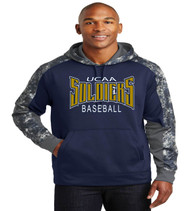 UCAA baseball freeze poly hoodie