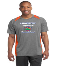 lakeside mens color block tee