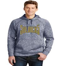 ucaa football mens poly hoodie