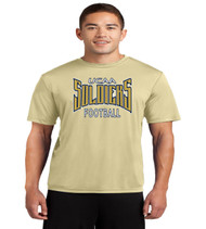 UCAA football dri fit tee