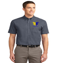 Sheffield mens short sleeve button up