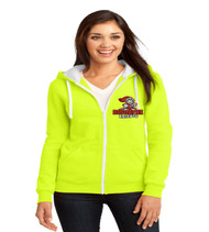 Biscayne ladies zip up hood