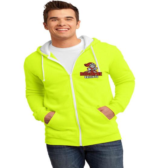 Biscayne mens zip up hood