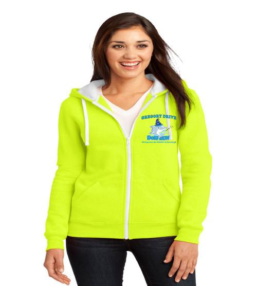 Gregory drive ladies zip up hoodie