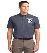 spring lake men's short sleeve button up