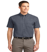 Durbin Creek Men's Short Sleeve Button-up
