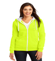 Durbin Creek Ladies Zip-Up Hooded Sweatshirt