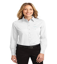 Durbin Creek Ladies Long Sleeve Button-up