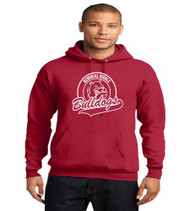 ** Memorial Red Hooded Sweatshirt **