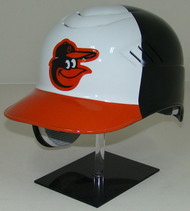 Baltimore Orioles White Front Rawlings Coolflo REC Full Size Baseball Batting Helmet