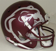 Mississippi State Bulldogs Alternate Red Buldog Schutt Full Size Replica Helmet