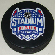 2014 NHL Stadium Series Los Angeles Sherwood Souvenir Game Puck