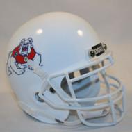 Fresno State Bulldogs Alternate White Schutt Mini Authentic Helmet