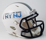 Super Bowl XLVIII 48 Replica SPEED Mini Helmet
