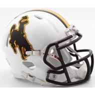 Wyoming Cowboys NCAA Riddell Speed Mini Helmet