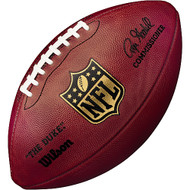 Official Leather NFL Game Football by Wilson (Signed by Roger Goodell)