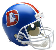 Denver Broncos Throwback 1975-96 Riddell Full Size Replica Helmet