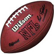 Official Throwback NFL Game Football by Wilson (Signed by Paul Tagliabue)