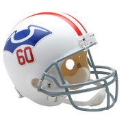 New England Patriots Throwback 1960 Riddell Full Size Replica Helmet