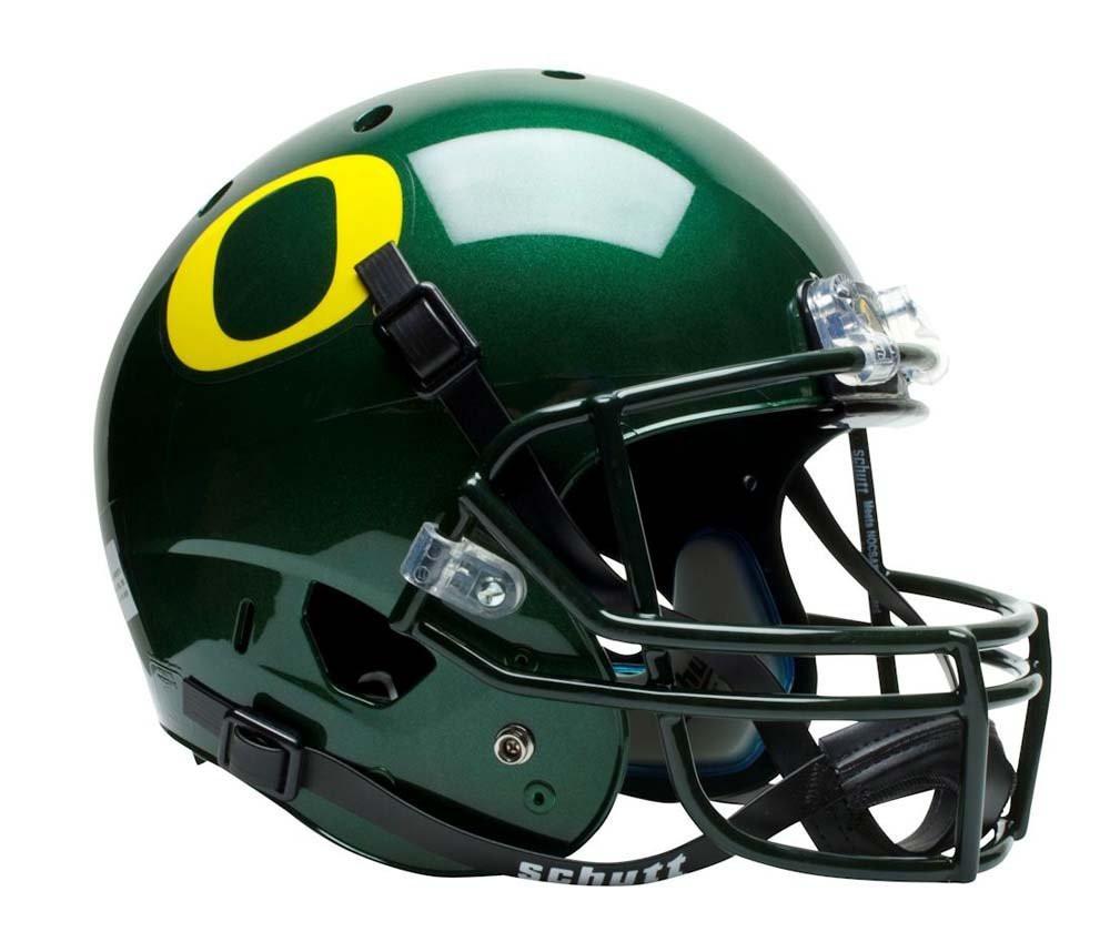 Oregon Ducks Schutt Full Size Replica Helmet - Green. Schutt · Image 1 9eafb06a3