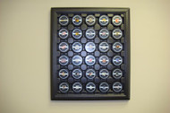 ACRYLIC WALL MOUNTABLE 30 HOCKEY PUCK DISPLAY CASE