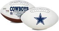 Signature Series NFL Dallas Cowboys Autograph Full Size Football