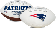 Signature Series NFL New England Patriots Autograph Full Size Football