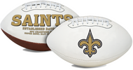 Signature Series NFL New Orleans Saints Autograph Full Size Football