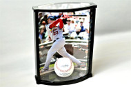 8 x 10 Vertical Photo and Baseball (or Softball, or Golf ball) Premium Display