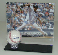 8 x 10 Horizontal Photo and Baseball Display