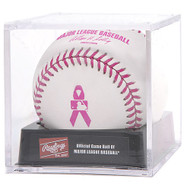 Rawlings Official Mother's Day MLB Official Baseball in Cube