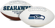Signature Series NFL Seattle Seahawks Autograph Full Size Football