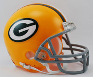 Green Bay Packers 1961-79 Throwback Riddell Mini Helmet