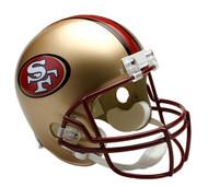 San Francisco 49ers 1996-2008 Riddell Full Size Replica Helmet