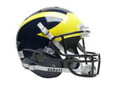 Michigan Wolverines Schutt Full Size Replica Helmet