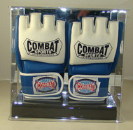 Double UFC / MMA Fight Glove Wall Mountable Display Case