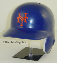 New York Mets All Blue Rawlings Classic LEC Full Size Baseball Batting Helmet