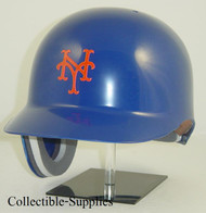 New York Mets All Blue Rawlings Classic REC Full Size Baseball Batting Helmet