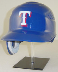 Texas Rangers Blue Rawlings Coolflo REC Full Size Baseball Batting Helmet