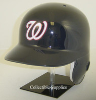 Washington Nationals Navy Road Rawlings Classic LEC Full Size Baseball Batting Helmet